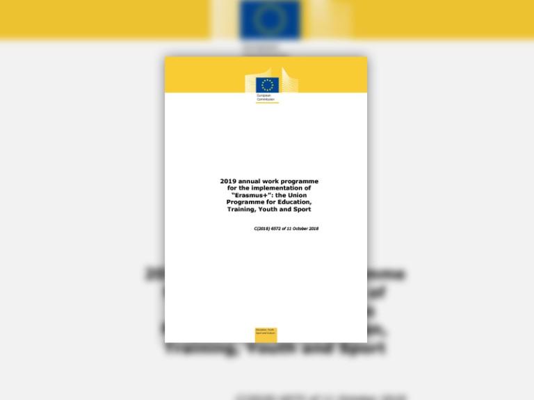 Erasmus+-Annual-Work-Programme-2019